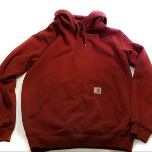 Carhartt Pullover Hoodie DKR Dark Red